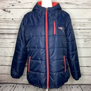 NFL New England Patriots Pro Line Zip Up Jacket